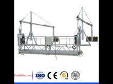 Suspended Platform With Electric Hoist