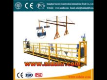 suspended platform work
