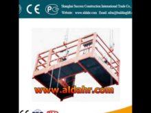 suspended platform zlp 500