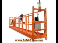 Suspended Platform Zlp800 Building Cleaning Lift1