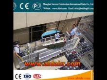 suspended scaffold work platform zlp630 working suspended platform