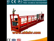 suspended steel platform