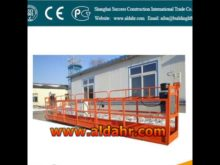 suspended water heater platform