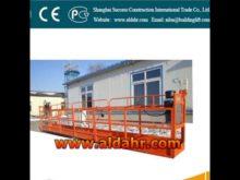 suspended working platform manufacturer