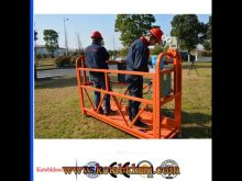 Swing Stage Zlp630 Lifter For Building Material