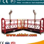 Tailored aluminum Material zlp800 suspended platform by sea