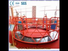 Temporary Suspended Platform/Gondola 800kg