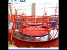 Temporary Zlp Series Rope Suspended Platform
