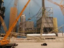 terex demag cc8800 luffing jib assembly