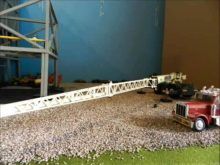 Terex RT130 setup and a lift