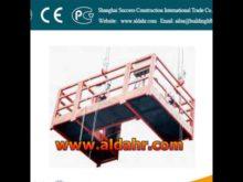 Top Rope Climbing gondola rack zlp630 zlp800A series suspension mechanism suspended platform