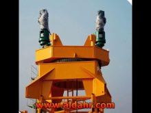 tower crane on rails