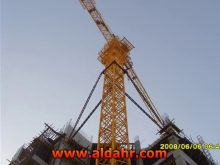 Tower Crane with Max Load 6t Jib Length 50m