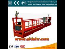 tractel suspended platform