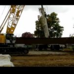 tub girder lift with Kobelco CK1600