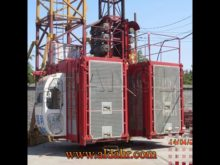 Twin Cage Hoisting Machine SC270/270TD