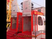 Two Cabin Material&Passenger Construction Hoist