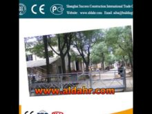 u shape eletric safety lock suspended platform