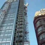 UBS Construction Hoists, Heron Tower London