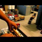 unboxing gmk 4115L anda sword flatbed truck