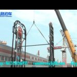 Vertical car Parking system installation video Jiu-Road/ smart stereo garage