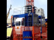 VFD Construction Building Hoist Crane for Lifting Materials and Passengers