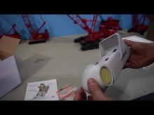 Weiss Brothers wind turbine nacelle unboxing