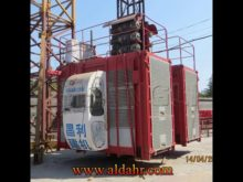 Widely Used 4 Ton CE and GOST Certificated Construction Hoist with Two Cages SC200/200GS
