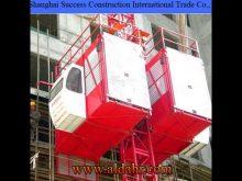 Widely Used Construction Hoist, Construction Elevator Sc320/320