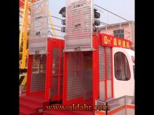 Widely Used Frequency High Speed Construction Hoist SC200/200GS