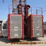 Widely Used Hot Sale Double Cage Building Hoist \ Construction Hoist SC 320/320