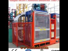 Wire Rope Hoist for Building Construction