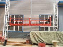 ZLP 630 plataforma suspensa | andaime suspenso elétrico | plataforma de corda suspensa