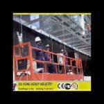 ZLP 630 plataforma suspensa,andaimes elétricos,plataforma de construção plataforma suspensa