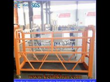 Zlp 630 Series Aluminum Rope Suspended Work Platform