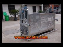 zlp 630/800/1000 electric L shape suspended platform