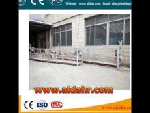 ZLP 800 Steel Building Cleaning Gondola/ Suspended Platform Factory Price