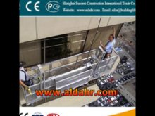 ZLP 800 Suspended Platform for Windows Cleaning