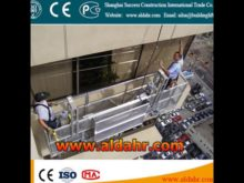 ZLP Double Angle Electric Rope Suspended Platform