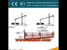 ZLP Electric Scaffolding Platform/ Electric Suspended Platform rsp