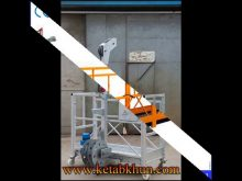 Zlp Height Work Adjustable Rope Suspended Platform