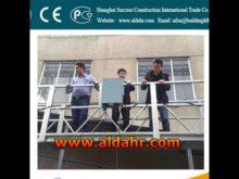 ZLP Plastic spray painting suspended platform/Gondola/Cradle