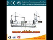 zlp series rope suspended platform