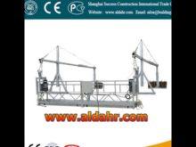 ZLP Series Suspended Platform for Elevator Installing