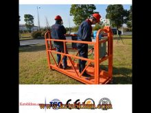 Zlp Series Suspended Platform Iso Gost Ce