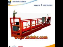 ZLP series suspended platform/gondola lift