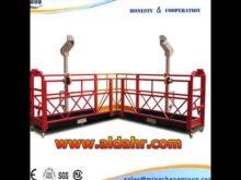 ZLP steel suspended platform steel platform/hanging scaffold work platform ZLP630 800