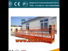 ZLP suspended platform cleaning equipment building glass cradle
