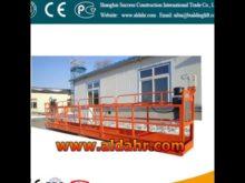 ZLP suspended platform folding cradle