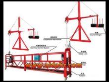ZLP suspended platform gondola cradle